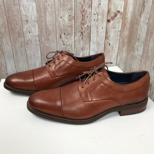 New Cole Haan Grand 0S sz 11 Henry cap toe Oxford